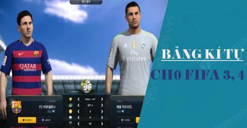 Kí tự đặc biệt fo3 (Fifa online 3)