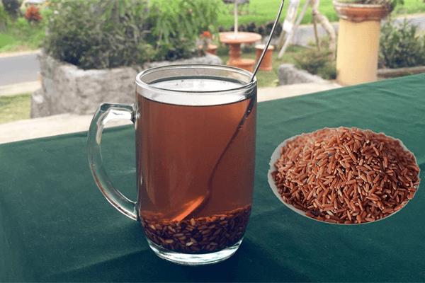 Cách làm nước gạo lứt rang lợi sữa