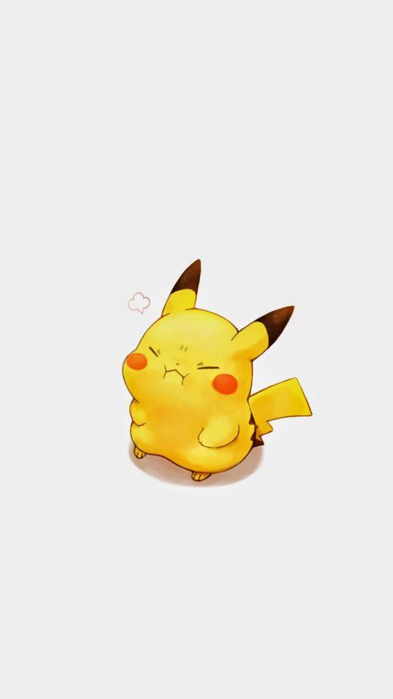 Hình Anime dễ thương và hài hước của pikachu cực đáng yêu