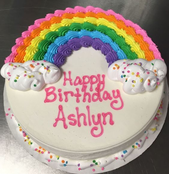 Ảnh bánh sinh nhật cho bé