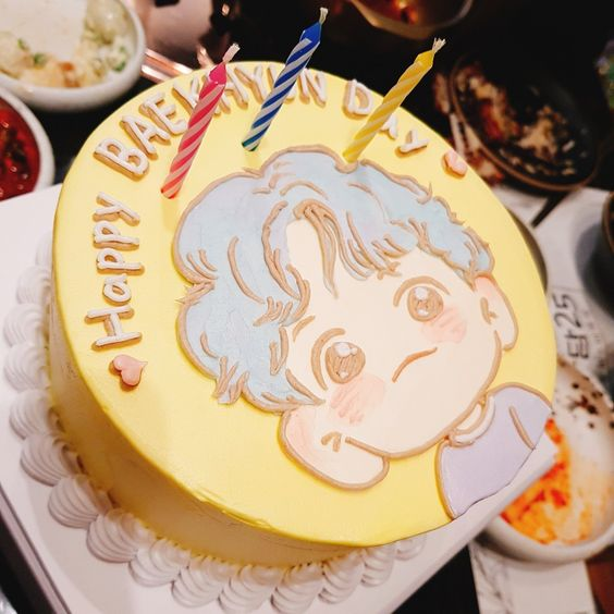 Hình ảnh bánh kem sinh nhật đẹp tặng bạn