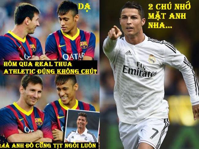 Hình ảnh hài hước bóng đá