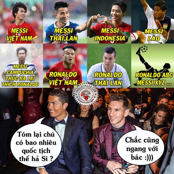 Hình ảnh hài hước nhất thế giới về bóng đá
