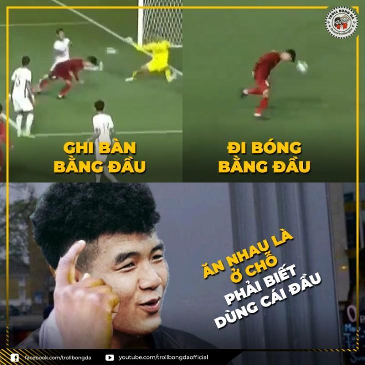 Hình ảnh hài hước nhất về cách dùng đầu trong bóng đá