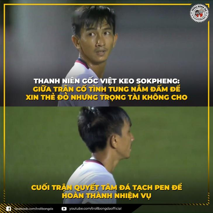 Hình ảnh hài hước vui nhộn về bóng đá Việt Nam