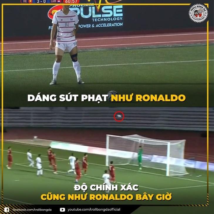 Hình ảnh vui vẻ về bóng đá Việt