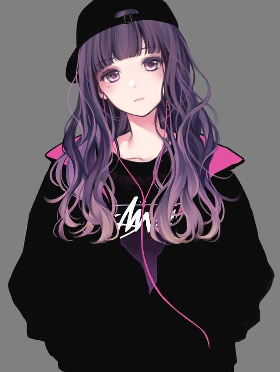 Tải hình anime nữ cá tính dễ thương