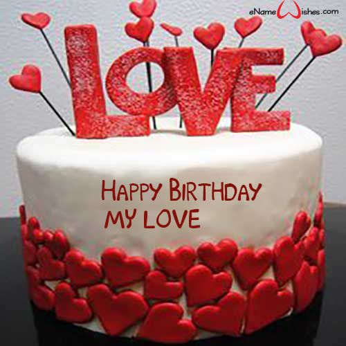 Hình bánh sinh nhật đẹp nhất dành tặng cho người yêu