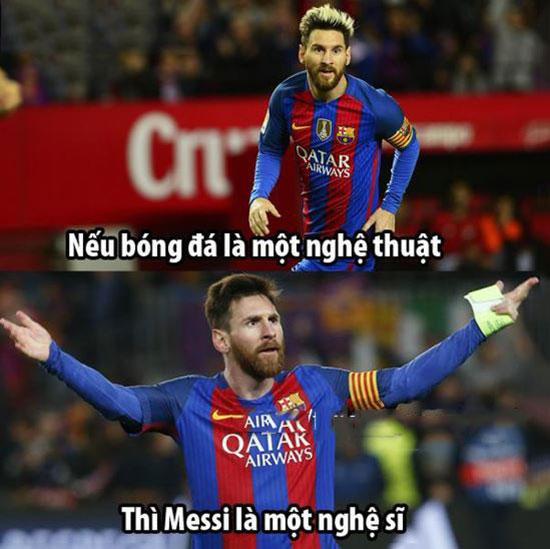 Những hình ảnh đẹp về bóng đá dành cho fan Messi