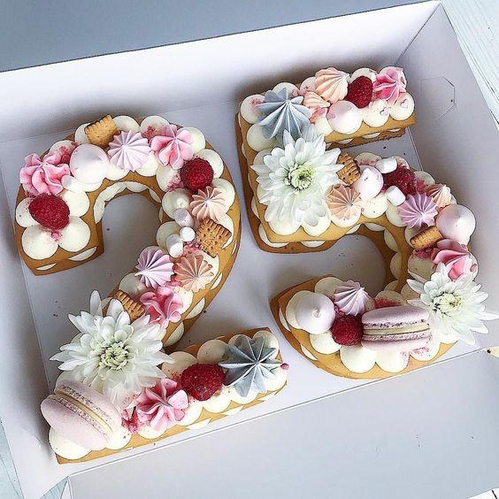 Tải bánh sinh nhật đẹp dành cho người tuổi 25