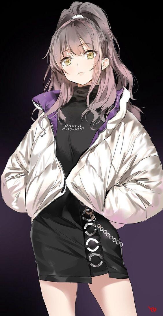 Tổng hợp hình ảnh anime girl lạnh lùng, ngầu và chất