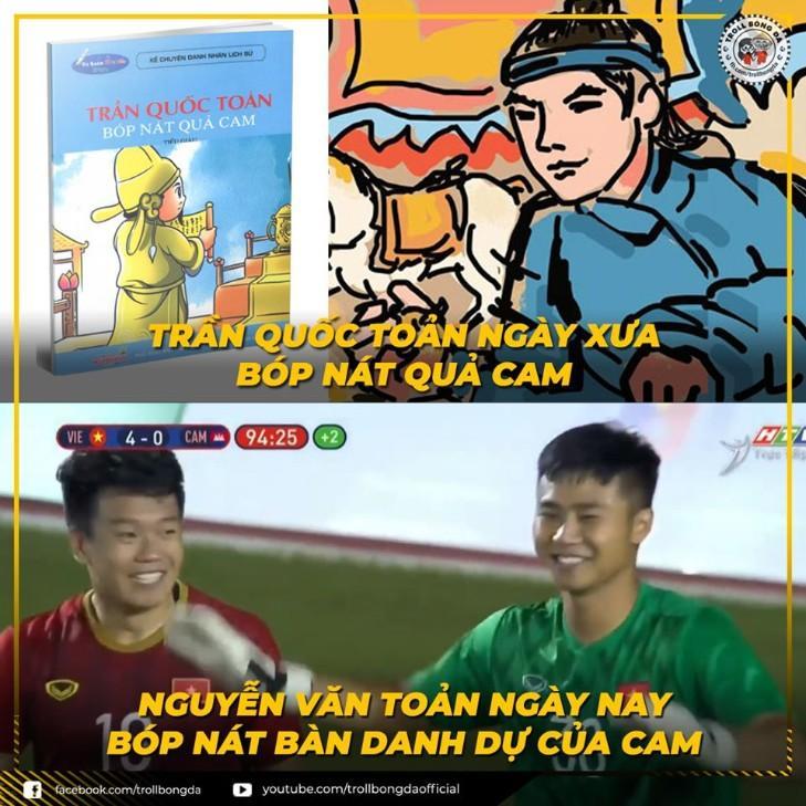 Hình ảnh hài hước nhất về Nguyễn Văn Toản