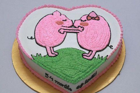 Ảnh bánh sinh nhật tặng người yêu tuổi hợi