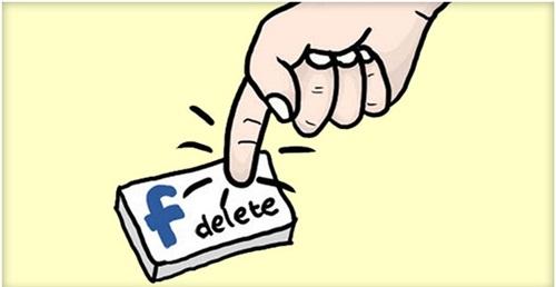 Các lưu ý trong cách xóa tài khoản fb