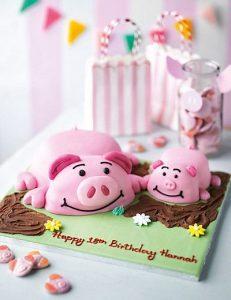 Tổng hợp 100+ ảnh bánh sinh nhật hình con heo dễ thương nhất