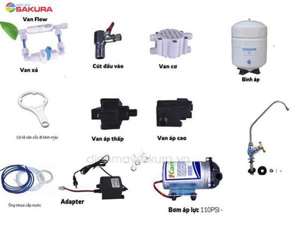 Các linh kiện máy lọc nước RO