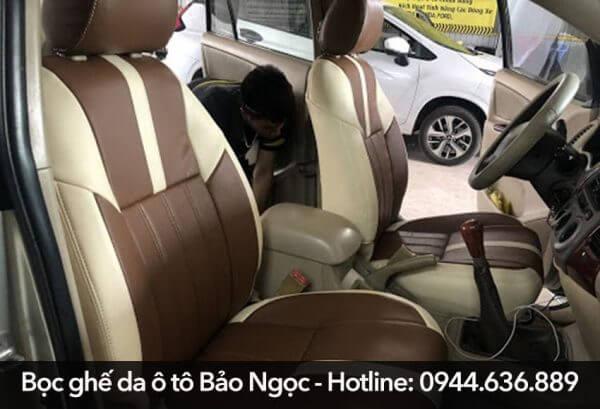 Nên ưu tiên chọn địa chỉ uy tín. Bảo Ngọc là một trong các cơ sở bọc ghế da ô tô chất lượng, giá tốt. Vui lòng liên hệ để được tư vấn 0944 636 889