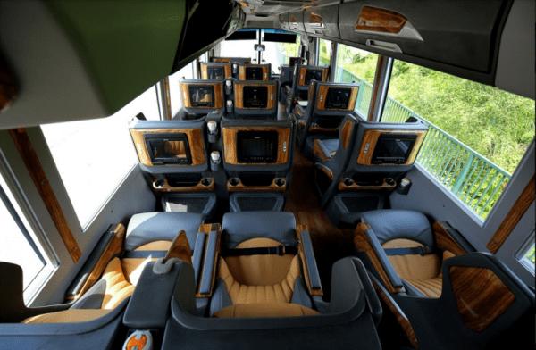 Những dòng xe có options nội thất đầy đủ tiện nghi