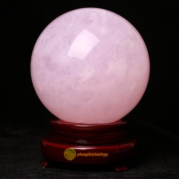 Quả cầu thạch ánh hồng