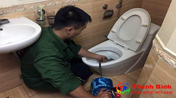 Dịch vụ thông cống nghẹt quận 12 của công ty Thanh Bình