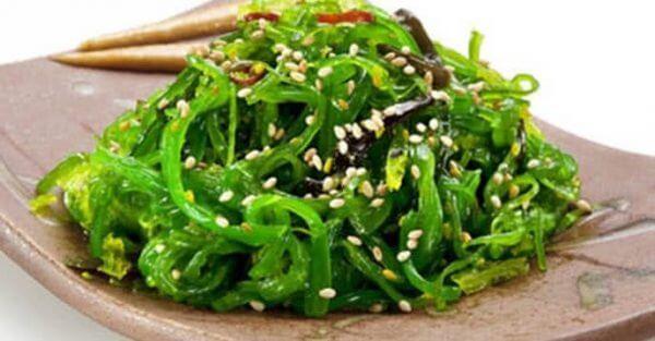 Món Salad rong biển