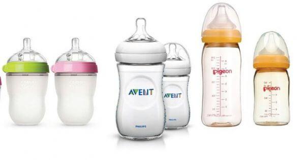 Những bình sữa cho bé không chịu bú bình hiện nay trên thị trường