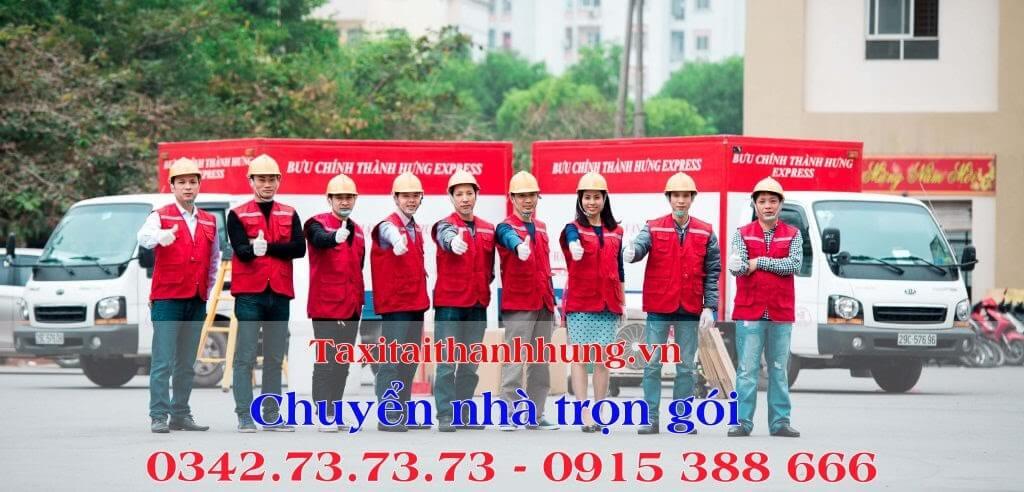 Dịch vụ chuyển nhà trọn gói tại Hà Nội - Thành Hưng
