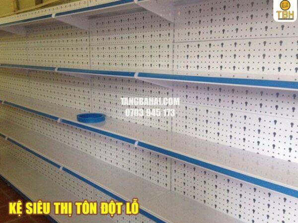 Kệ siêu thị tôn đột lỗ