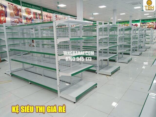 Những mẫu kệ siêu thị giá rẻ