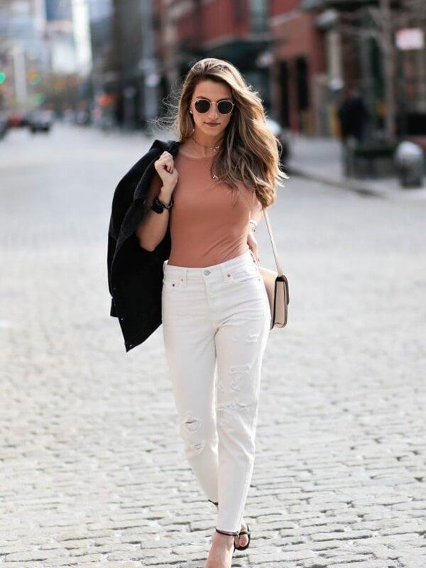 Gợi cảm hơn với áo thun ôm body dành cho nữ đẹp ấn tượng