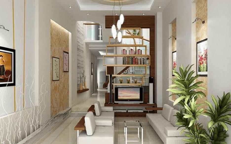 Thiết kế nội thất nhà ống đẹp theo phong cách hiện đại