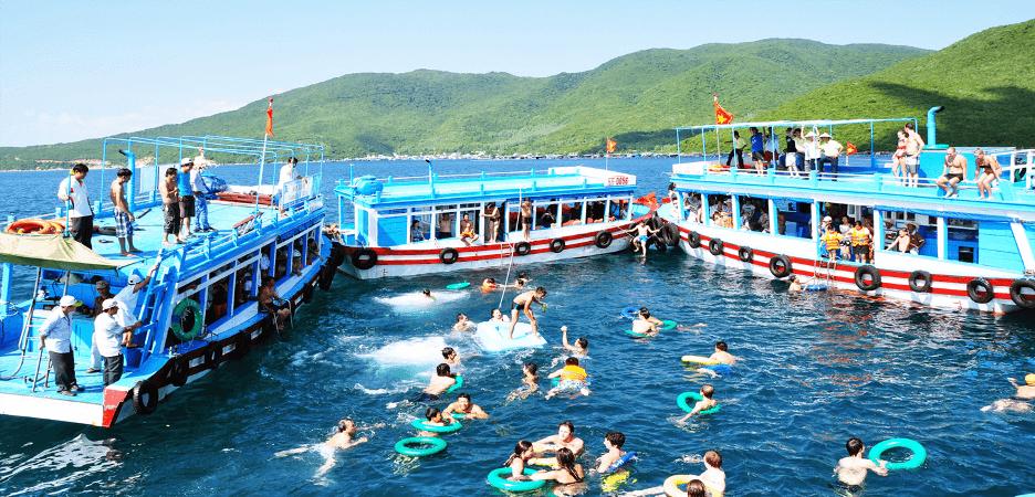 Tour VIP 3 đảo tại các tour Nha Trang