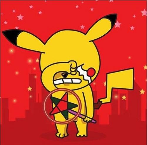 Ảnh chế trung thu của Fa Pikachu