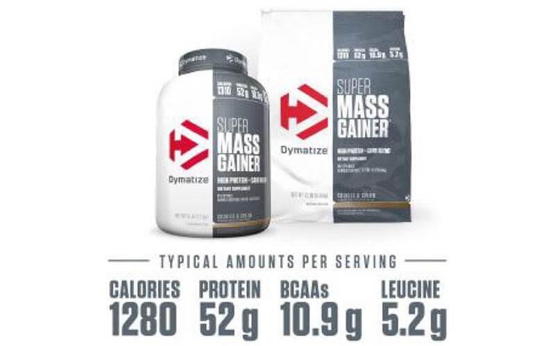 Các thành phần dinh dưỡng của Super Mass Gainer