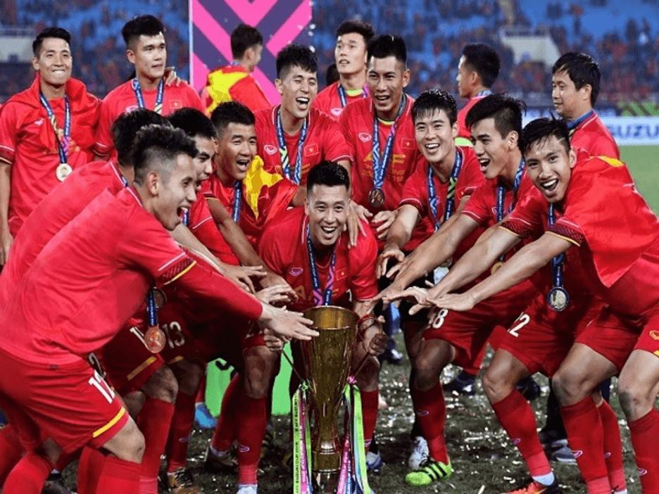 Hình ảnh đội tuyển Việt Nam vô địch