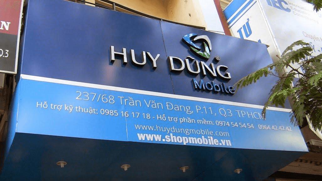 Huy Dũng Mobile - Trung tâm sửa chữa điện thoại Vivo uy tín tại TPHCM