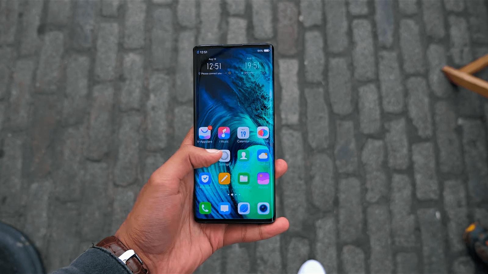 Màn hình cảm ứng của điện thoại Vivo không phản hồi