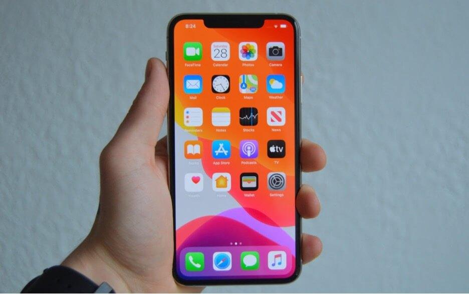 Màn hình iPhone 11 Pro Max rất sắc nét