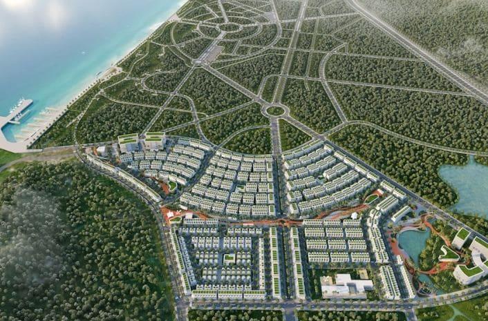 Dự án Meyhomes Capital Phú Quốc được bao quanh bởi những khu rừng nguyên sinh