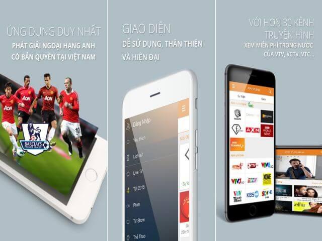 FPT Play ứng dụng xem bóng đá trực tuyến việt nam