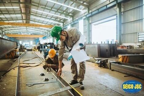 Yêu cầu về thép và vật liệu hàn phải đảm bảo tiêu chuẩn hiện hành