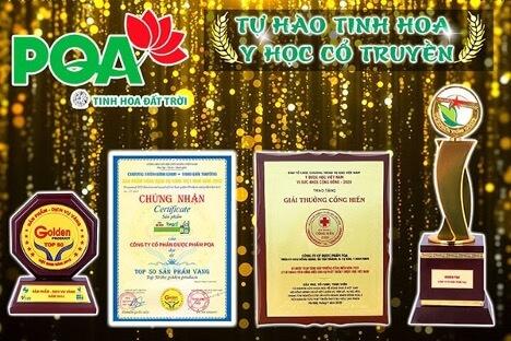 Các giải thưởng cao quý của Nhà nước dành cho sự cống hiến của tập thể PQA
