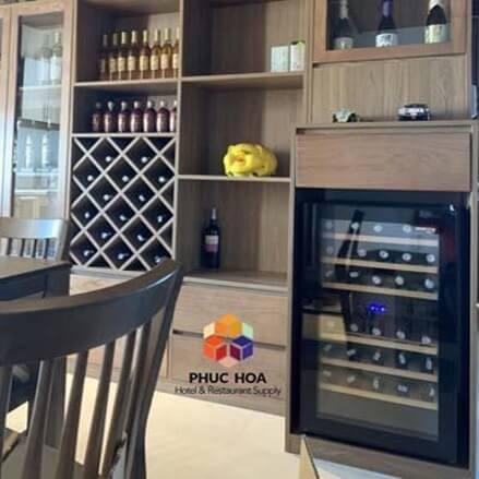 Những tiêu chí khi lựa chọn tủ bảo quản rượu vang