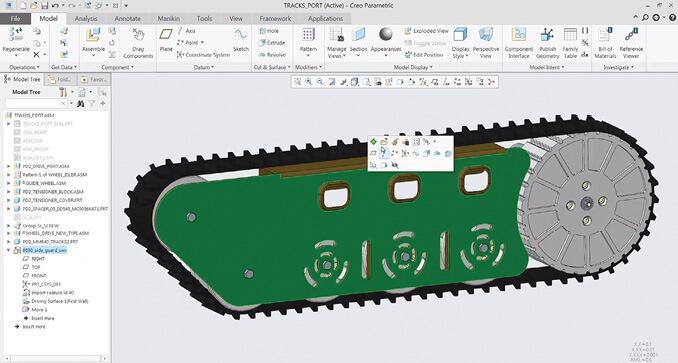 PTC Creo: Phần mềm thiết kế và phát triển sản phẩm