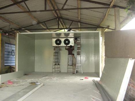 Quy trình lắp đặt tại Điện lạnh cơ điện lạnh Bắc Ninh