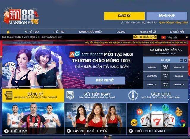 Thế giới cá cược trực tuyến đỉnh cao tại M88