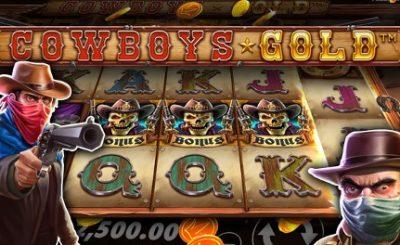 Luật chơi Cowboys Gold Slot