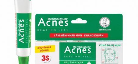 Hình 3: Sản phẩm Acnes Sealing Jell