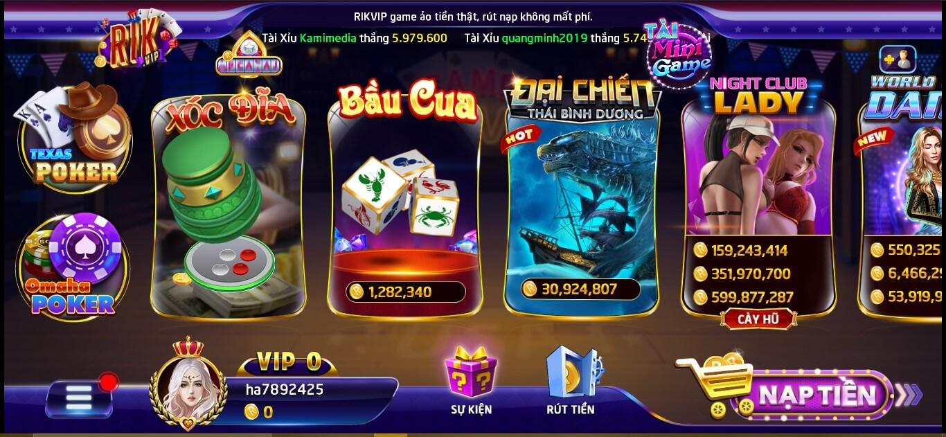 Các tựa game casino hấp dẫn