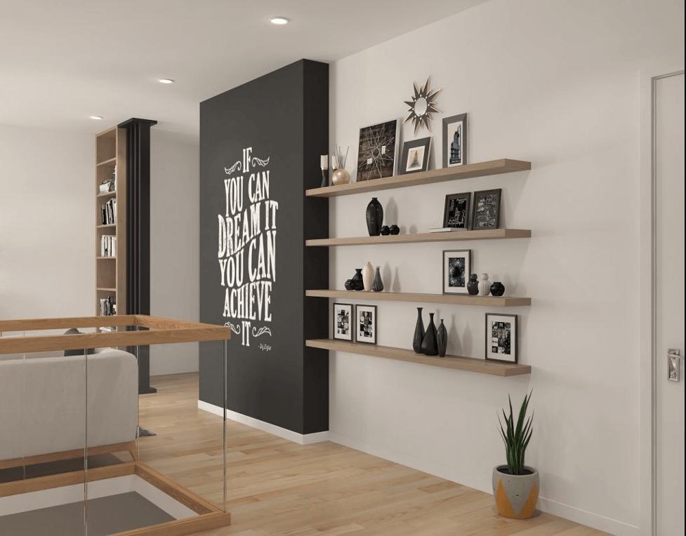 Nghệ thuật trang trí tường nhà
